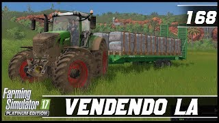PRIMEIRA VENDA DE LÃ DA SÉRIE! | FARMING SIMULATOR 17 PLATINUM EDITION #168 [PT-BR]