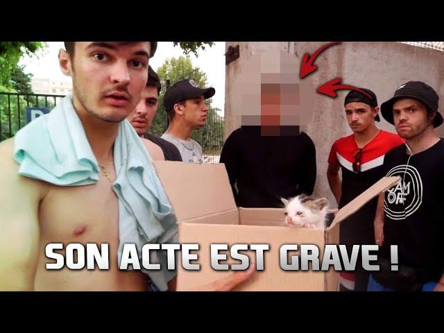 IL JETTE DES CHATONS À LA POUBELE ET TERMINE À LEURS PLACES ! ( CAM OFF )