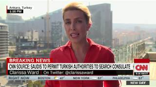 Jamal Khashoggi  Turkey given permission to search Saudi consulate in Istanbul   CNN