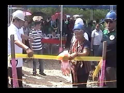 Ground Breaking of NHA Housing Project in Kajatian Indanan, Sulu