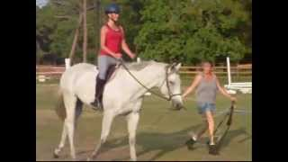 my first horseback riding lesson