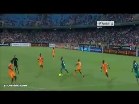 Nigeria 2 - 1 Cote D'Ivoire- Goals Highlight CAN 2013