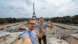 Злачные места Парижа, Леонардо Дикприо,  Эйфелева башня, Обзор еды, Gangsta Rap, Экстрим в метро
