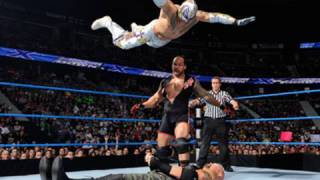 SmackDown: Rey Mysterio & MVP vs. CM Punk & Luke Gallows