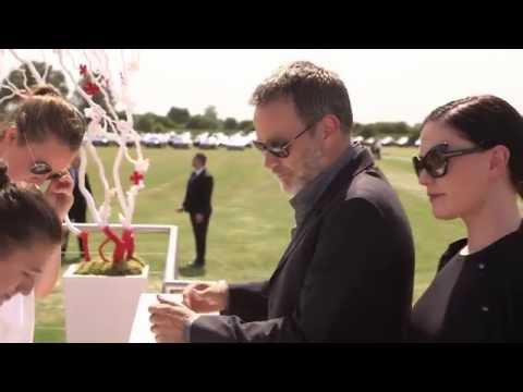 HRH Duke of Cambridge impresses Eddie Redmayne at polo tournament