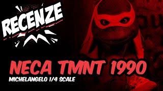 Recenze Neca TMNT 1/4 - Michelangelo (CZ)