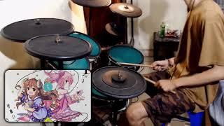 Machikado Mazoku ED Full  「 Yoimachi Cantare よいまちカンターレ 」 Drum cover