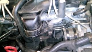 Cleaning the EGR on a euro4 Volvo D5