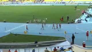400м Женщины - 1 полуфинал ЧР 2013