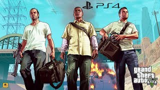 Grand Theft Auto V (PS4 Gameplay) [2160p]