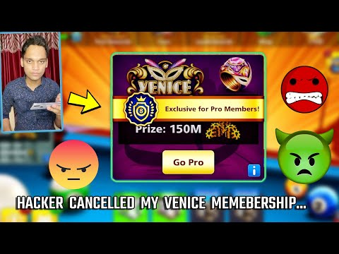 THE CRAZY HACKER IN 8 BALL POOL HACKED MY VENICE PRO MEMEBERSHIP..(what's happening?) from YouTube · Duration:  23 minutes 47 seconds