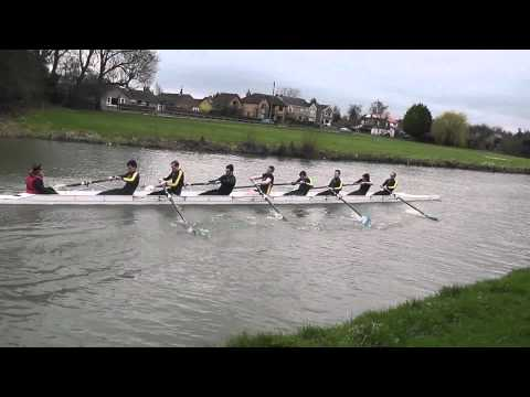 Wolfson College BC - Lent Bumps Getting On Race 2011 - M3