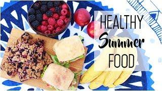 Healthy & Easy Summer Food // Beach Snacks & Picnic Treats, Vegan