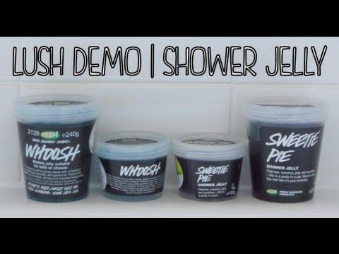 Lush Demo Shower Jelly Youtube