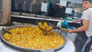 Popular Street Food Of Uzbekistan   Tashkent Famous Street Food   Gumma Recipe   Mubashir Saddique