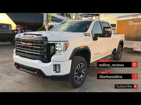 2020 Gmc Sierra Hd 2500 3500 Redline First Look Youtube