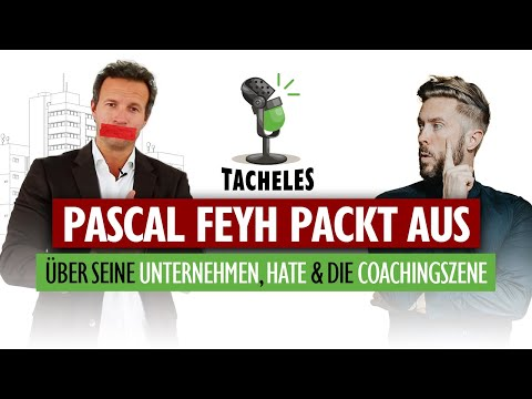 PASCAL FEYH PACKT AUS | Multi-Unternehmer Pascal Feyh zu Gast bei Tacheles
