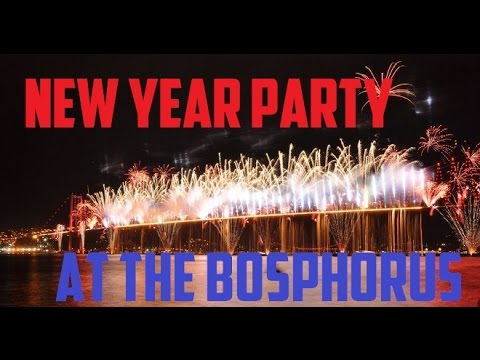 New Year Party at the Bosphorus (Fireworks Show) (Bosphorus