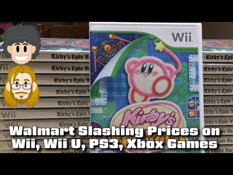 Walmart Slashing Prices On Wii, Wii U, PS3, 360 Games - #CUPodcast