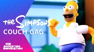 Robot Tavuk Couch Gag | Sezon 24 | THE SİMPSONS