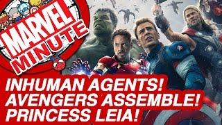 Marvel: Inhuman Agents! Avengers Assemble! Princess Leia! - Marvel Minute 2015