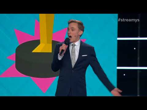 Jon Cozart SHOCKS The Audience With His Opening Monologue - Streamy Awards 2017