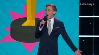 Jon Cozart SHOCKS the Audience with His Opening Monologue - Streamy Awards 2017 YouTube Videos