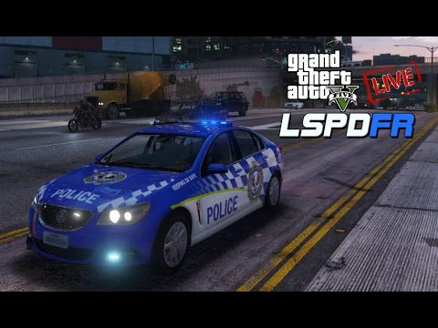 Grand Theft Auto V - LSPDFR Police Mod | LIVE! | SAPOL Traffic Services Patrol