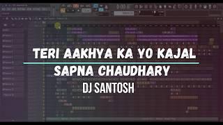Teri Aakhya Ka Yo KajaL  DJ SANTOSH #FLP