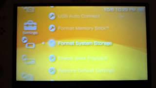 How To Reset/Restore PSP Go Settings
