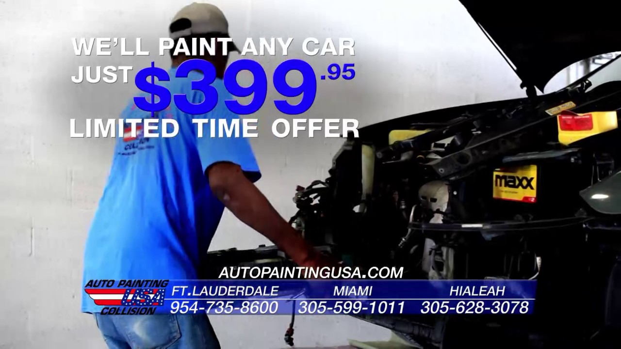 Auto Painting Usa Commercial Youtube