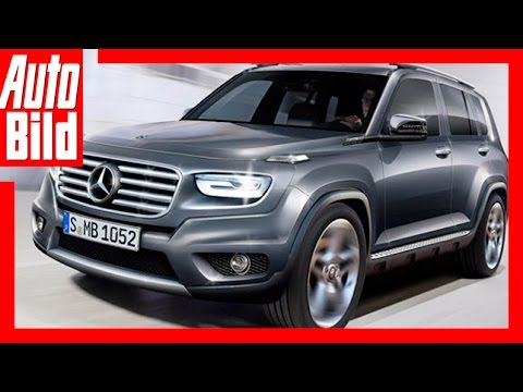 zukunftsvision mercedes glb 2019 mercedes schrumpft die g klasse zum glb youtube. Black Bedroom Furniture Sets. Home Design Ideas