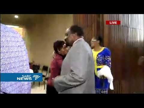 ZANU PF party leaders dance to a new era in Zimbabwe