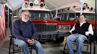 Mike and Bob LaPenna discuss their vintage ambulances