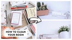 How To Clean Your Room   KonMari Method