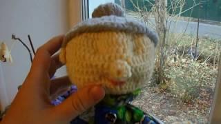 Перчаточная лялька гачком (чи баба гачком)