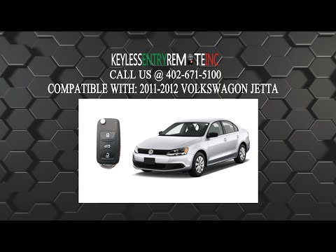 How To Replace Volkswagen Jetta Key Fob Battery 2011 2012