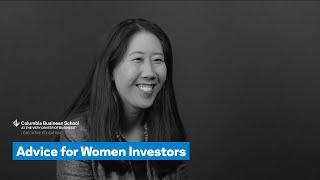 Advice for Women Investors