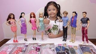 Những Bộ Quần Áo Mới Của Búp Bê Barbie & Ken