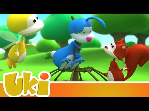 Uki 🤝 Friends To The Rescue! | Videos For Kids
