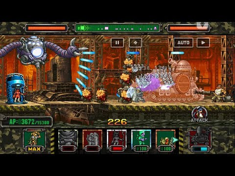 [HD]Metal slug ATTACK. UNIT!  NEW UNIT APPEAR  !!! (2.7.0 ver)