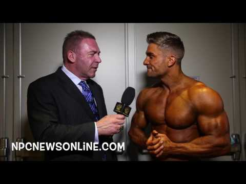 2017 Arnold Men's Physique Winner Ryan Terry Interviewed By Tony Doherty