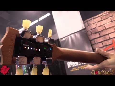 Gibson MIN-ETune for ANY Guitar!  Check out : TronicalTune Auto-Tuner Robot : Winter NAMM 2014
