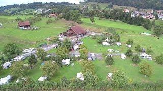 Camping auf dem Erlebnisbauernhof Gerbe (Meierskappel, Schweiz/Switzerland)