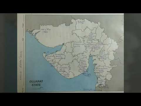Gujarat geography || 13 maps with details