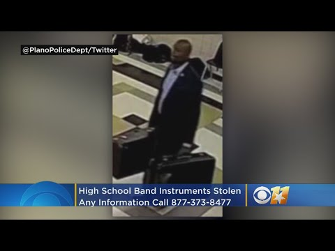 Suspected Wanted For Stealing Band Instruments At Plano East Senior High School