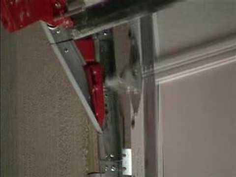 garage door switchGarage Door Switch Track Screen  YouTube