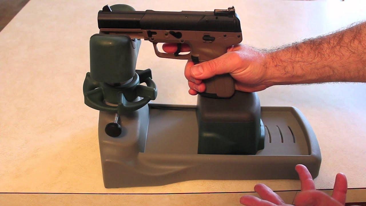 Review Caldwell Pistolero Handgun Rest Youtube
