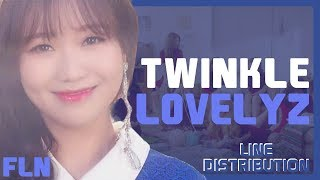 TWINKLE - LOVELYZ | LINE DISTRIBUTION [PERFECT ACCURACY]