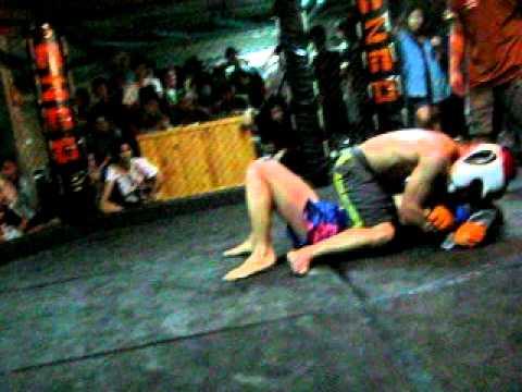 Muay Chaiya (old Muaythai) Vs Judo (win) R3